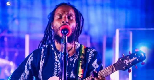 Rolling Stone: Ziggy Marley Performs Socially Distanced 'Rebellion Rises' Set